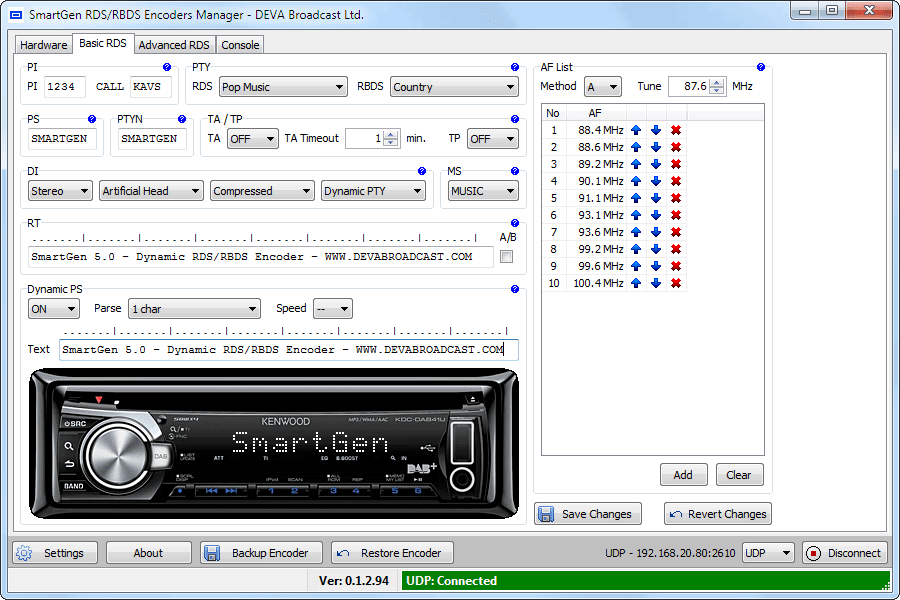SmartGen5 soft basic